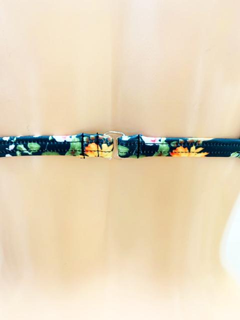 【数量限定!】 コスメイトオリジナル ストレッチ素材 花柄極小三角ビキニ