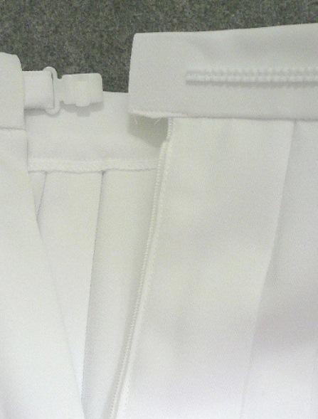 《日本製》ああ、憧れの…白プリーツスコート◆W65/81/100