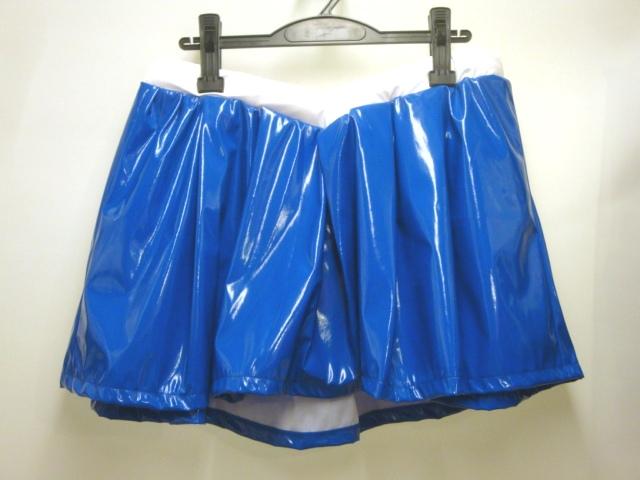 【日本製/アウトレット】エナメル加工生地セーラー戦士SET◆青・水色/4Lのみ