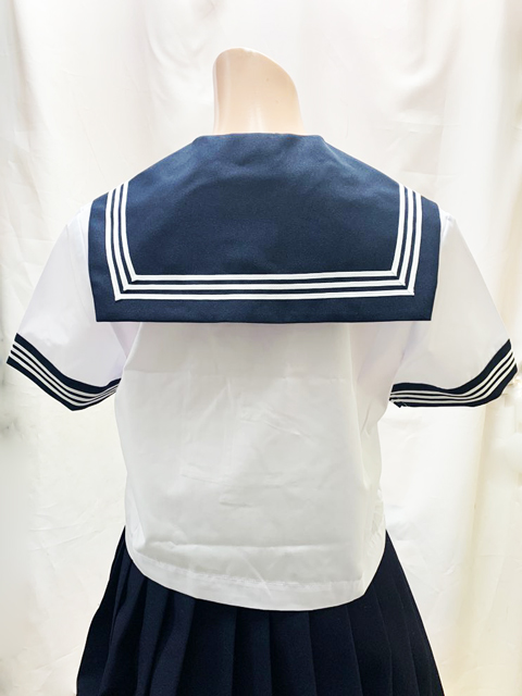 wcs-01<br>春夏 半袖 セーラー服  日本製