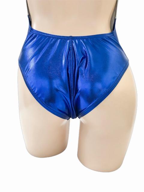 wbb-2788 コスメイトオリジナル スーパーメタリック サイドスラッシュライン 競泳水着