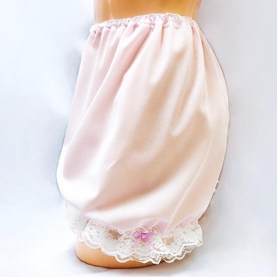 コスメイトオリジナル<br>裾レース付き<br>ショートドロワーズ<br>日本製