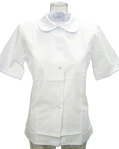 wsh-02<br>TOP ACE スクールブラウス 丸襟 半袖