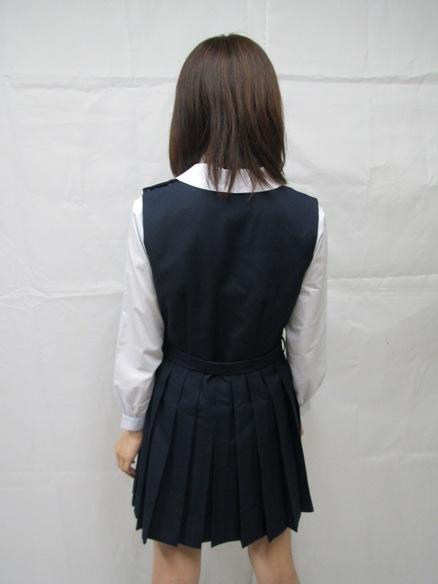ミニ丈 スクール ジャンパースカート