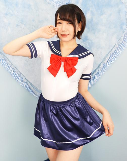 コスメイトオリジナルスーパーウェットセーラーカラースクール水着&ライン入りスカートセット 日本製