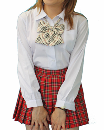 wfb-02_04<br>Fashioner スクールシャツ 角襟 長袖