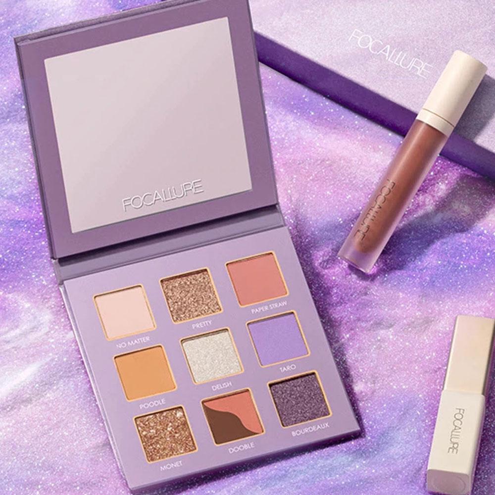FOCALLURE フーカルーア 9Pan Eyeshadow Palette 9色アイシャドウパレット FA62