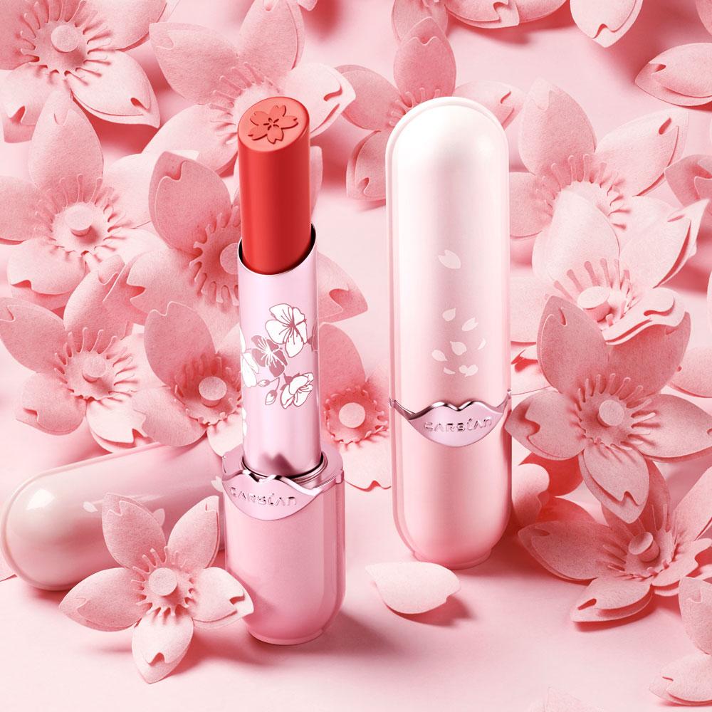 CARSLAN カーズラン 桜シリーズ リップスティック 口紅 リップ #11 カンヒザクラ