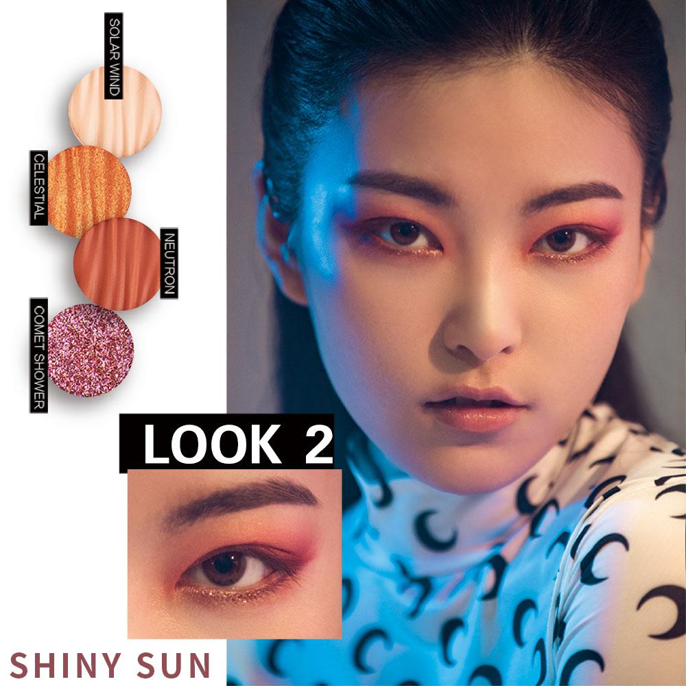DiTO ディト Galaxy 9 Color Eyeshadow Palette SUN SATURN ギャラクシー9色アイシャドウパレット