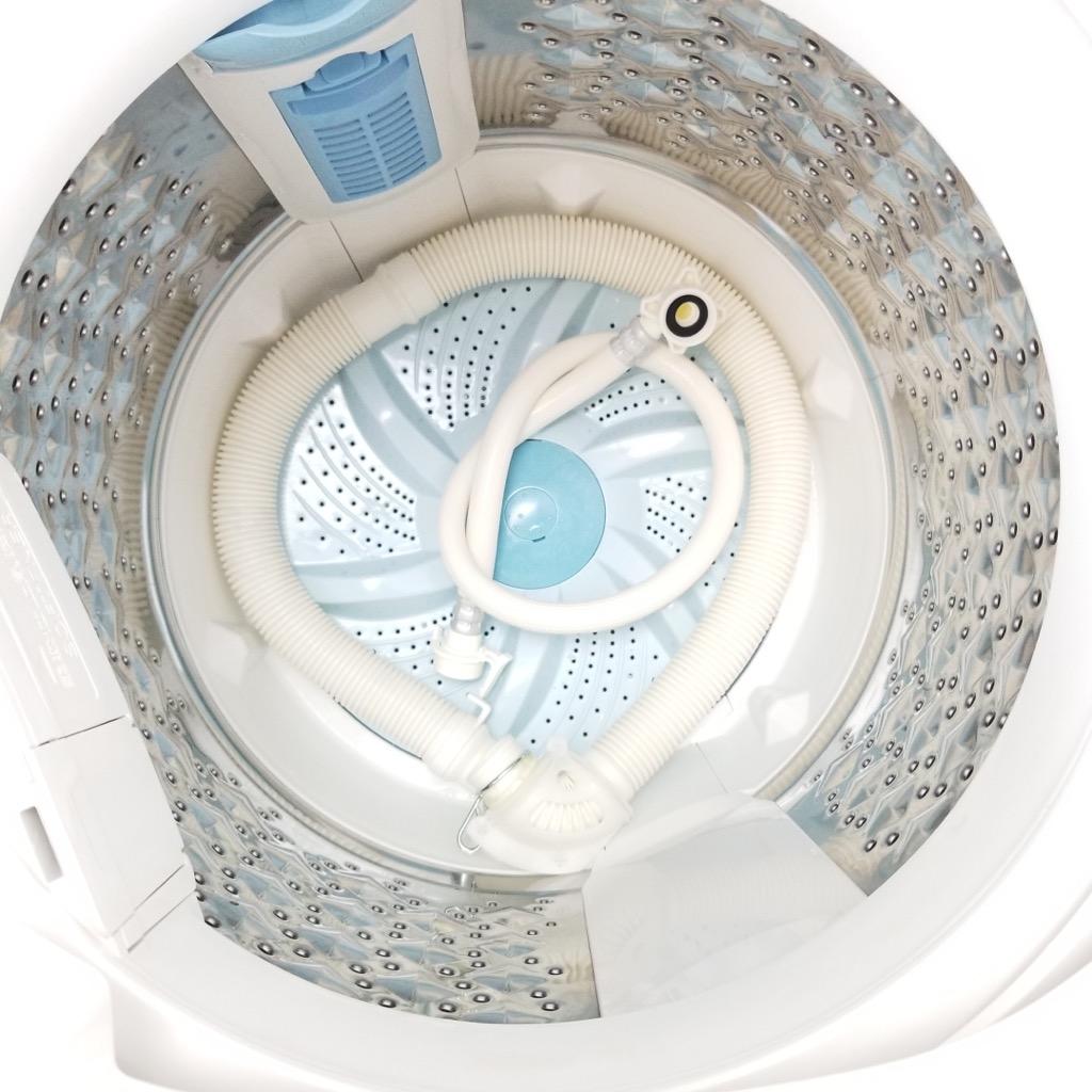 中古 6.0kg 全自動洗濯機 グランホワイト 東芝 2016年製 ステンレス槽 1人暮らし 2人暮らし まとめ洗い ちょっと大きい 6ヶ月保証付き【型番掲載商品】