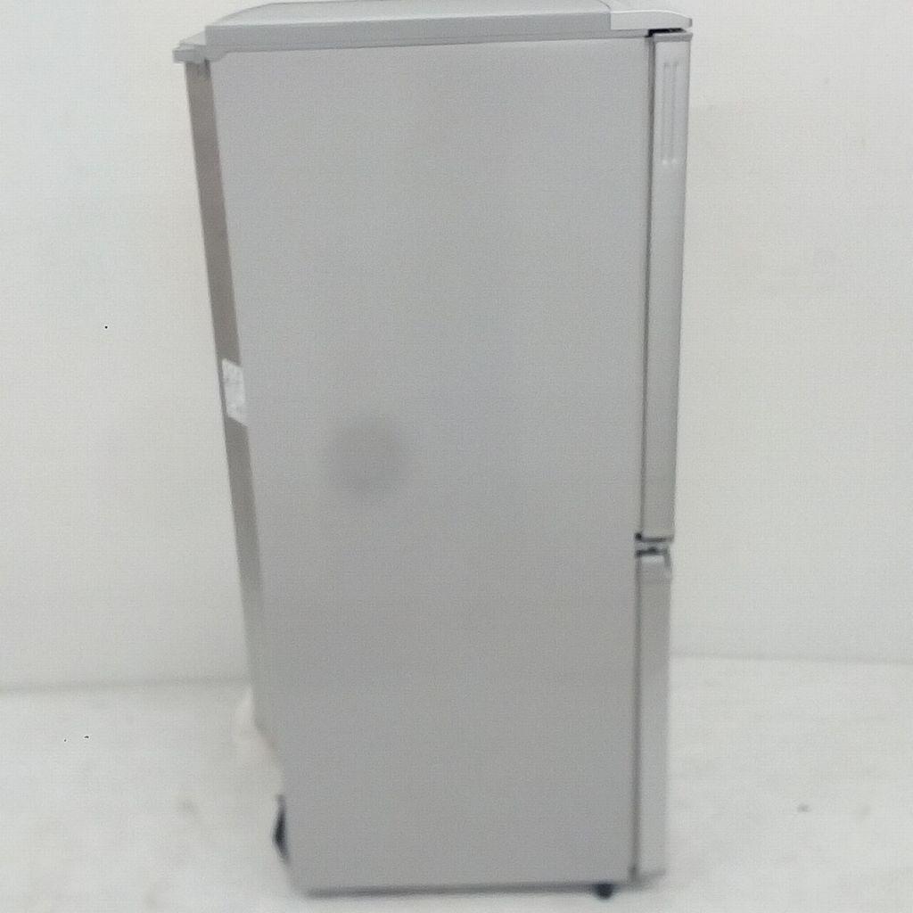 中古  137L プラズマクラスター 2ドア冷蔵庫 シャープ つけかえどっちもドア SJ-PD14W-S 2012年製 自動霜取りファン式 6ヶ月保証付き