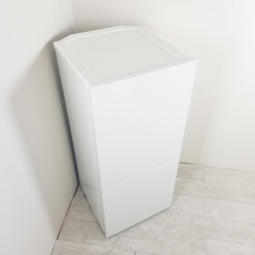 中古  110L 2ドア冷蔵庫 無印良品 RMJ-11B 2014年製 ワンルームに最適 自動霜取りファン式 一人暮らし 単身用 6ヶ月保証付き