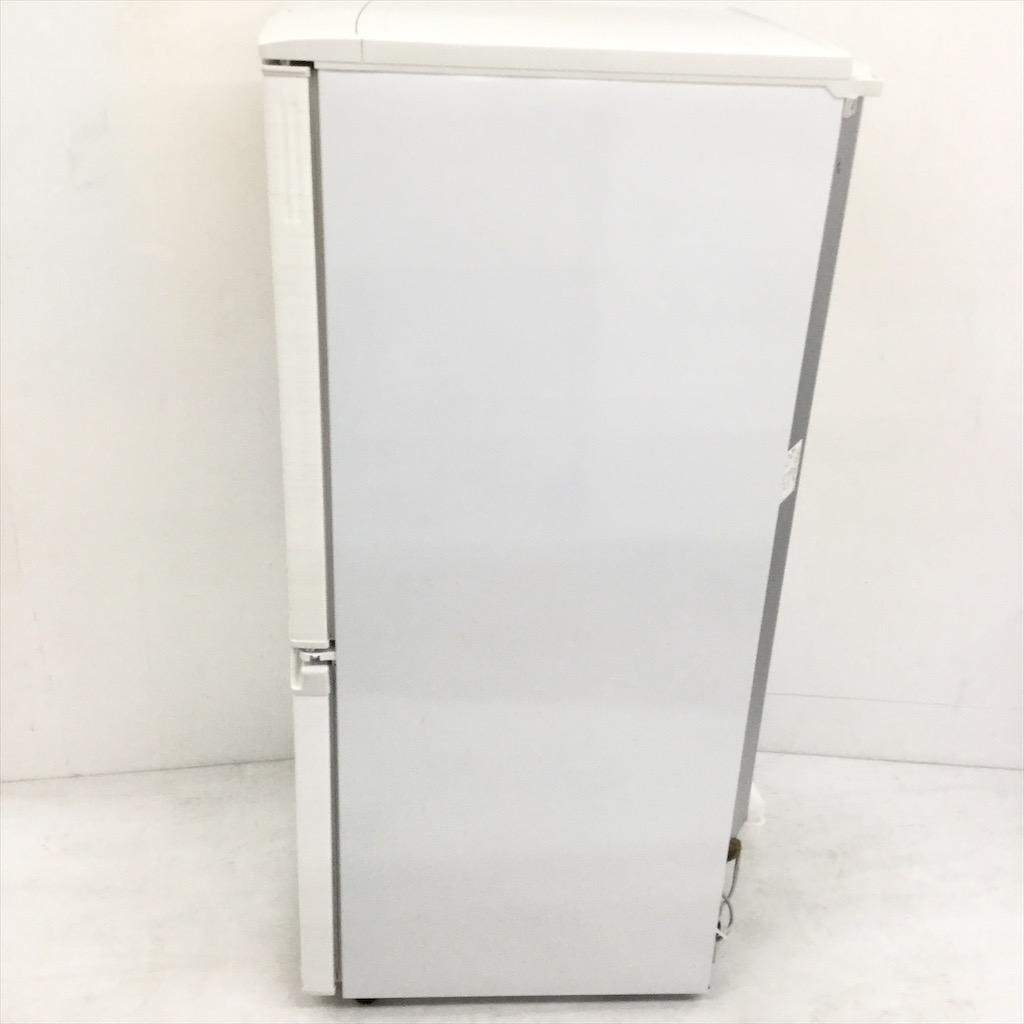中古  137L つけかえどっちもドア ホワイト 2ドア冷蔵庫 シャープ SJ-D14C-W 2017年製 6ヶ月保証付き