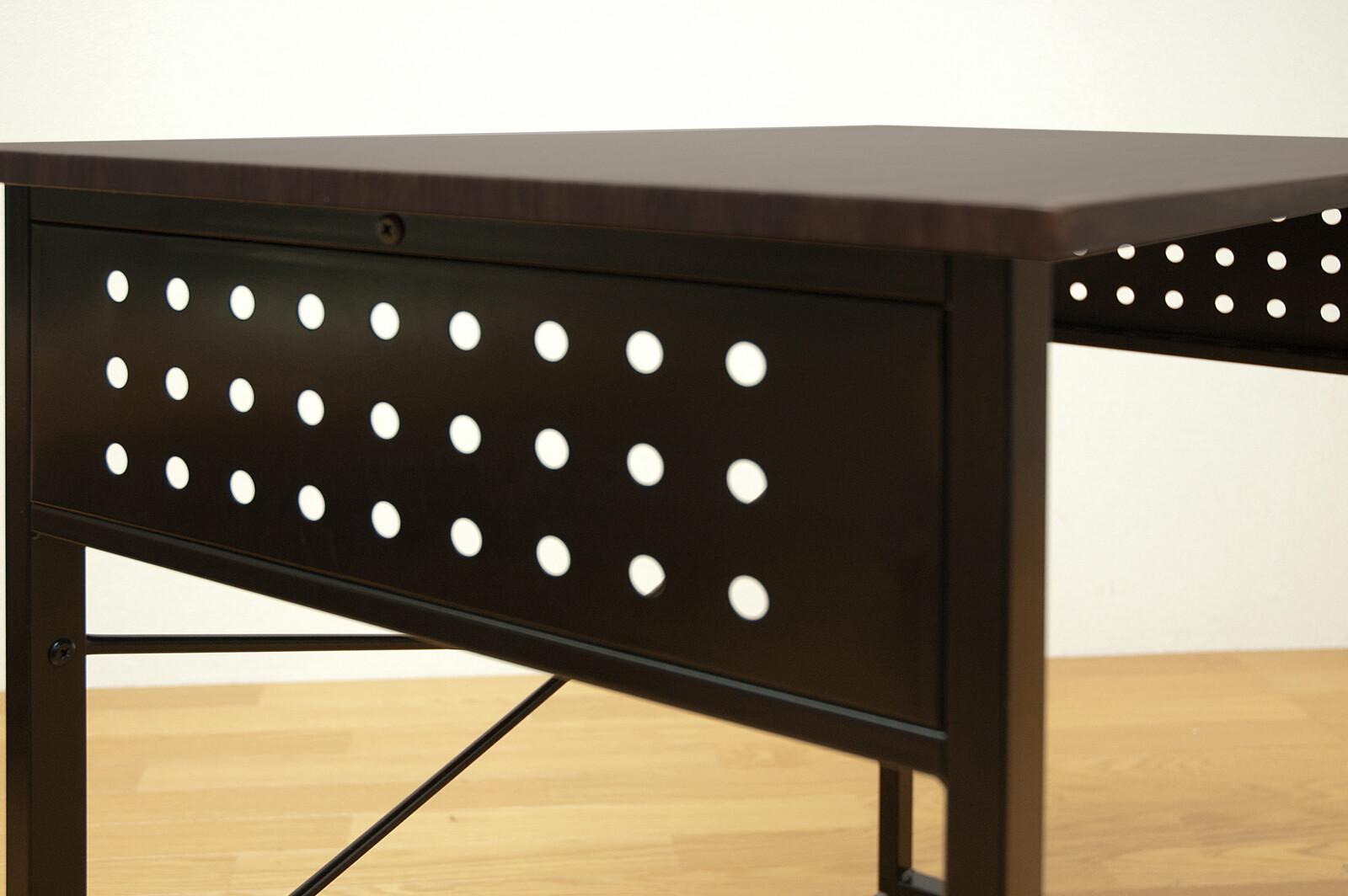【サブスク専用】ナチュラル ブラウン2色 パーソナルデスク テレワークに♪ 机