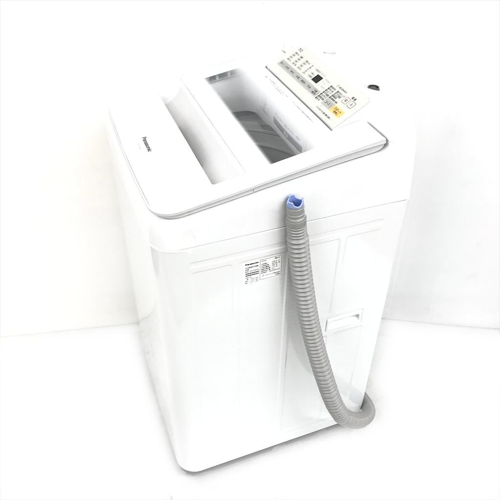 中古  7.0kg 簡易乾燥機能付 全自動洗濯機 パナソニック エコナビ NA-FA70H6 2018年製造 ホワイト 6ヶ月保証付き