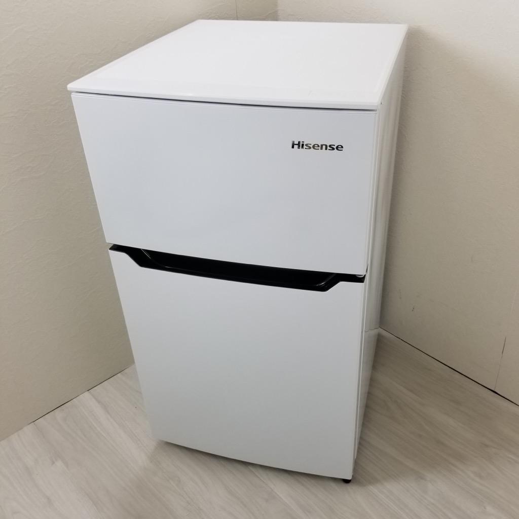 中古高年式 コンパクト冷蔵庫 ハイセンス 93L HR-B95A 2016年〜2017年製 ホワイト 2ドア 小型 小さい 安い 単身用 学生向け 一人暮らし用 おまかせセレクト 6ヶ月保証付き 【型番掲載商品】