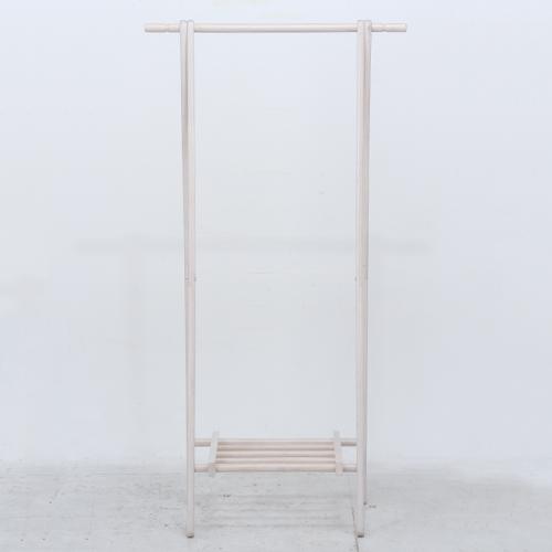 【サブスク専用】幅75cm 木製ハンガー ジョイント WH