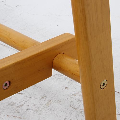 【サブスク専用】シンプルデザイン 幅75cm 木製ハンガー ジョイント NA