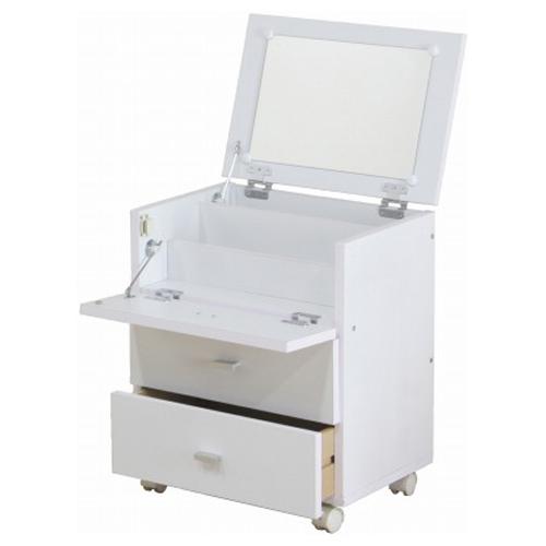 【サブスク専用】小型ドレッサー収納 ホワイト