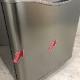 中古  ダイウ 150L 2ドア冷蔵庫 DR-C15AS 右開き 2016年製 レトロスタイル 単身用 一人暮らし レトロシルバー 6ヶ月保証付き