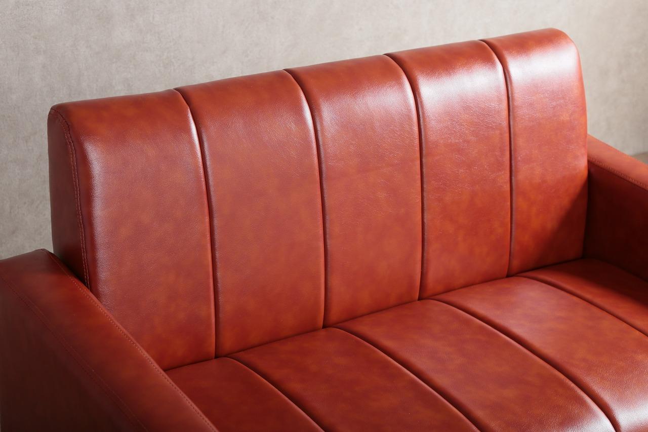 【サブスク専用】ワンルームにも置けるコンパクトヴィンテージ調ソファー