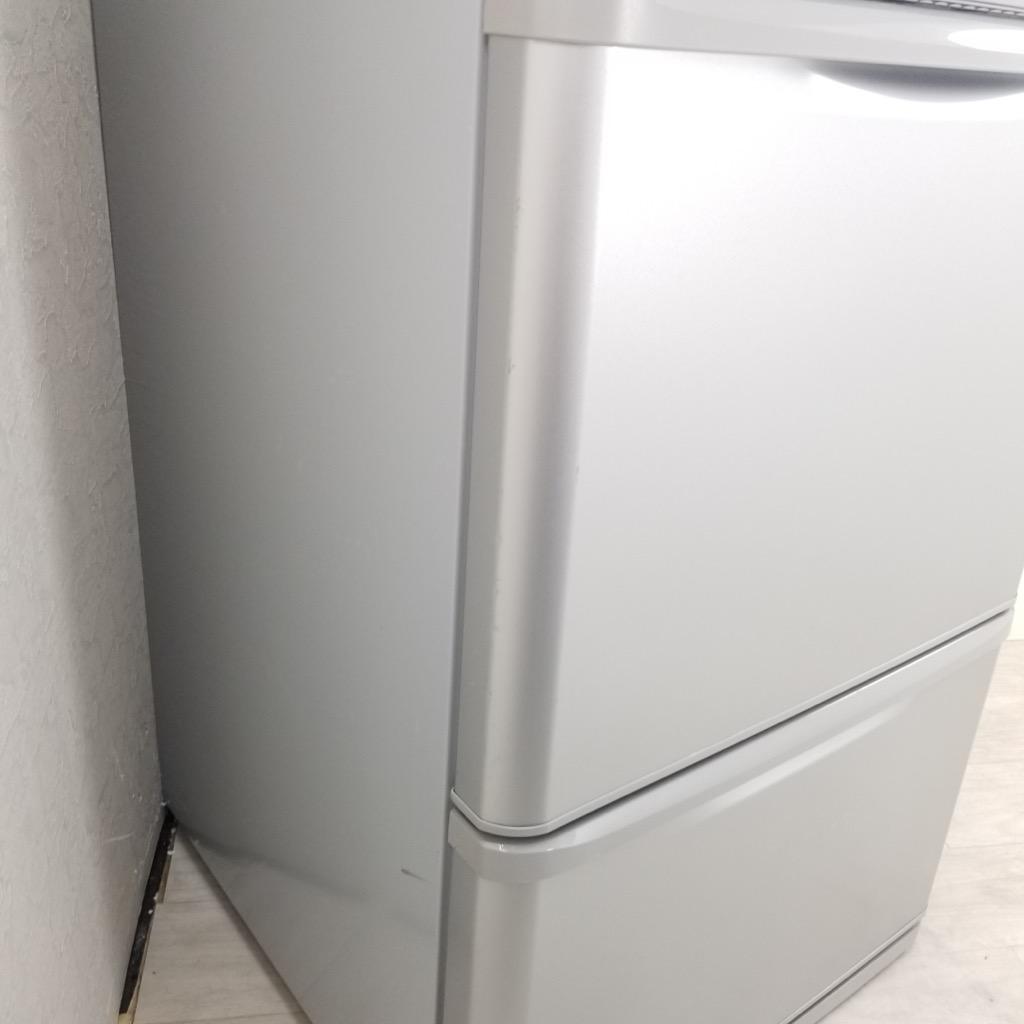 中古 350L 3ドア冷蔵庫 シャープ どっちもドア SJ-WA35W-S 2012年製 両開き シルバー まとめ買い 家族 ファミリー 6ヶ月保証付き