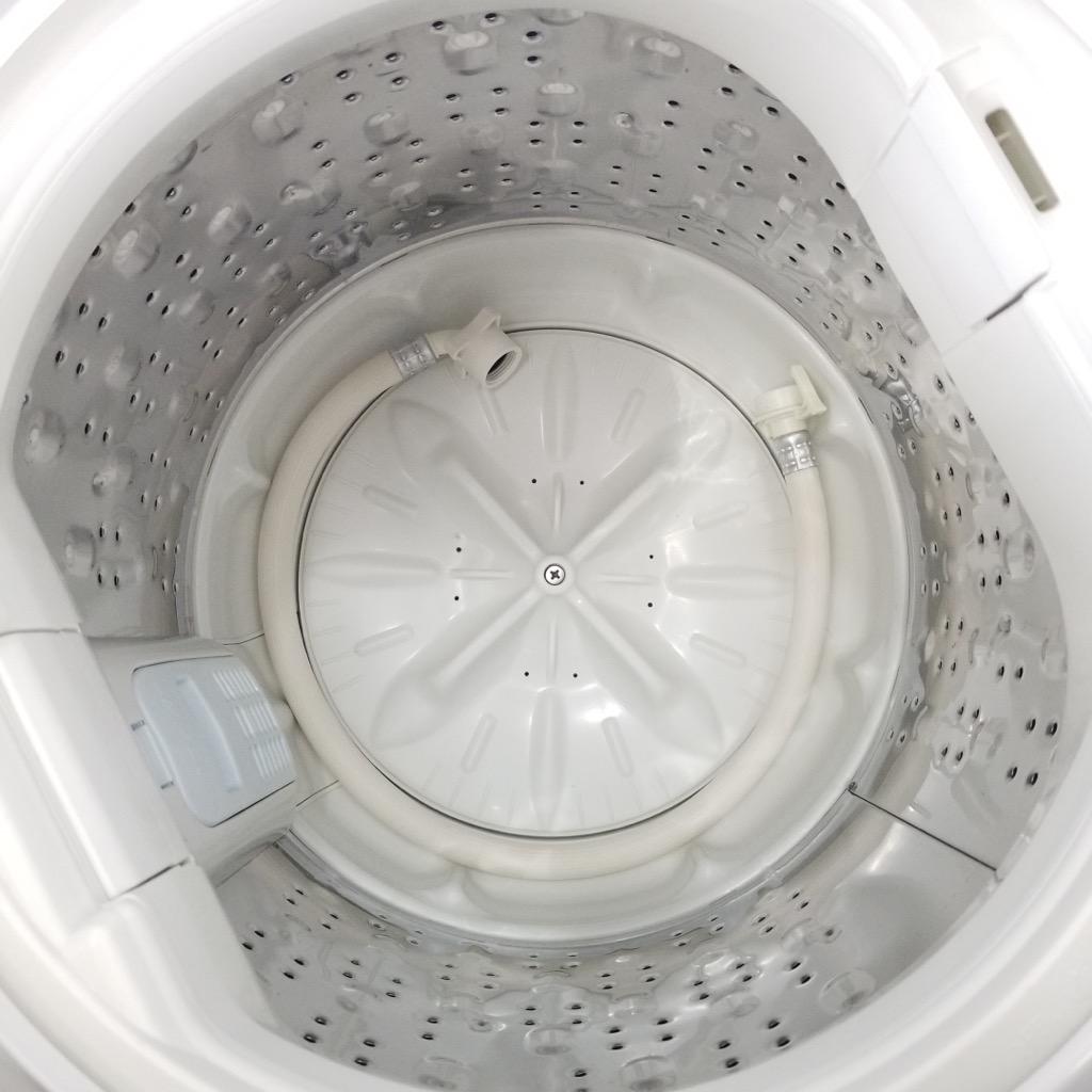 中古  洗濯機 スリム 日立 5.0kg 送風乾燥機能 ピュアホワイト 日立 NW-5WR 2016年製 槽洗浄機能 6ヶ月保証付き