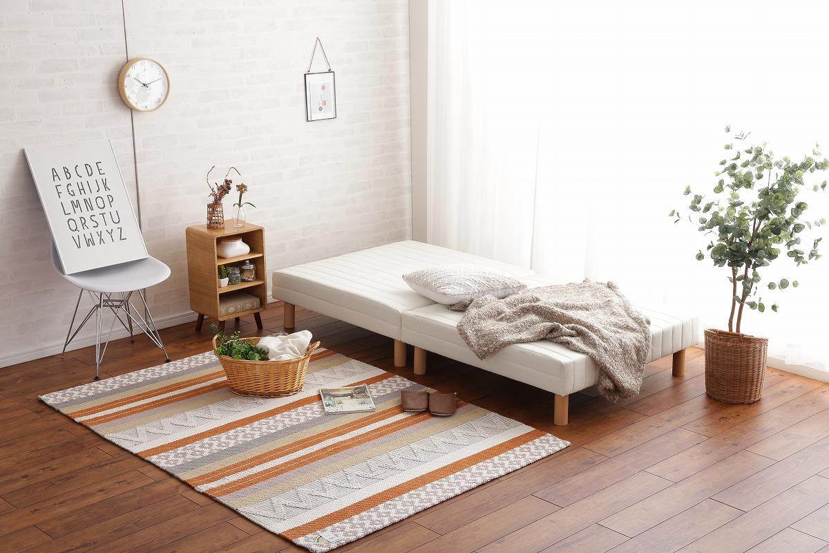 【サブスク専用】設置が簡単 分割式脚付きマットレスベッド