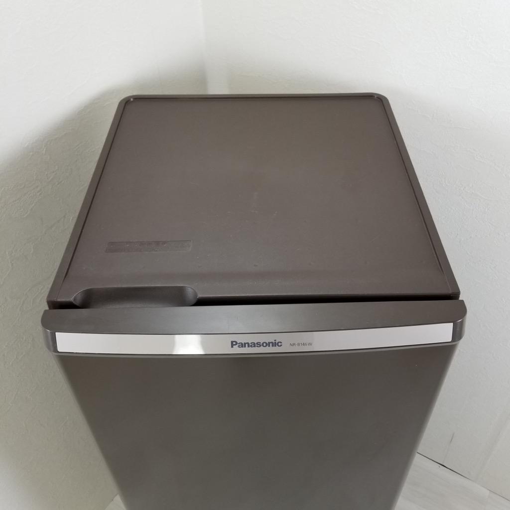中古 2ドア冷蔵庫 自動霜取りファン式 パナソニック 2013年〜2014年製 ブラウン 138L ボトムフリーザー 希少 かっこいい 人気 茶色 単身用 一人暮らし用 6ヶ月保証付き