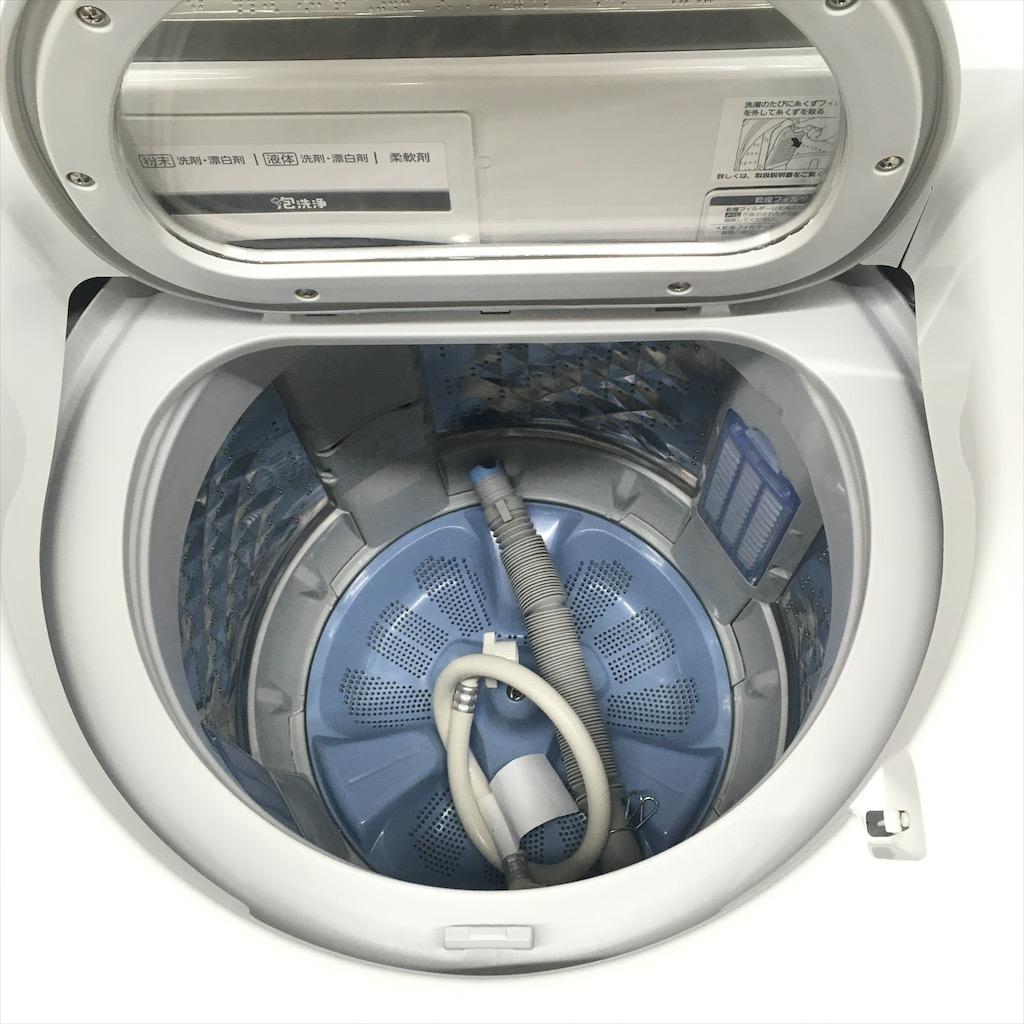 中古 近郊送料格安 洗濯9.0kg 乾燥4.5kg 全自動洗濯乾燥機 パナソニック エコナビ NA-FW90S1 2015年製 エコナビ 6ヶ月保証付き
