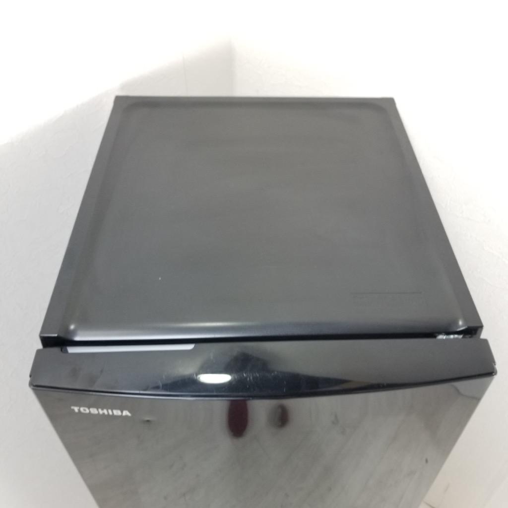 中古  東芝 153L 2ドア冷蔵庫 GR-M15BS-K 2018年製 ブラック 6ヶ月保証付き