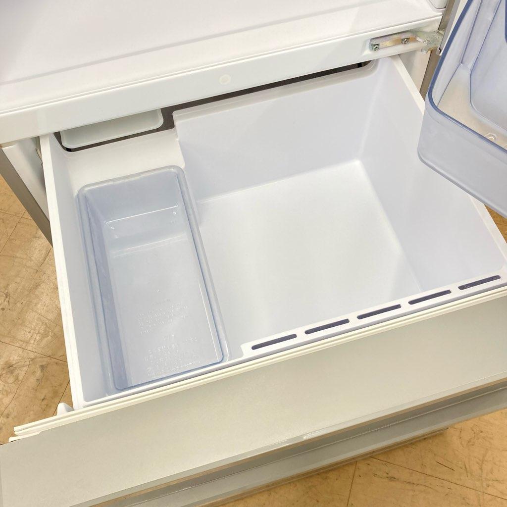 中古 店舗近郊送料格安 272L 3ドア冷蔵庫 アクア AQR-27H-S 2019年製 シルバー 6ヶ月保証付き