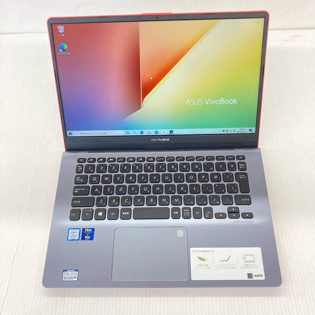 中古 美品 ASUS Win10 VivoBook S14 S430UA 第8世代 i3-8130U メモリ4GB Intel Optane+932搭載