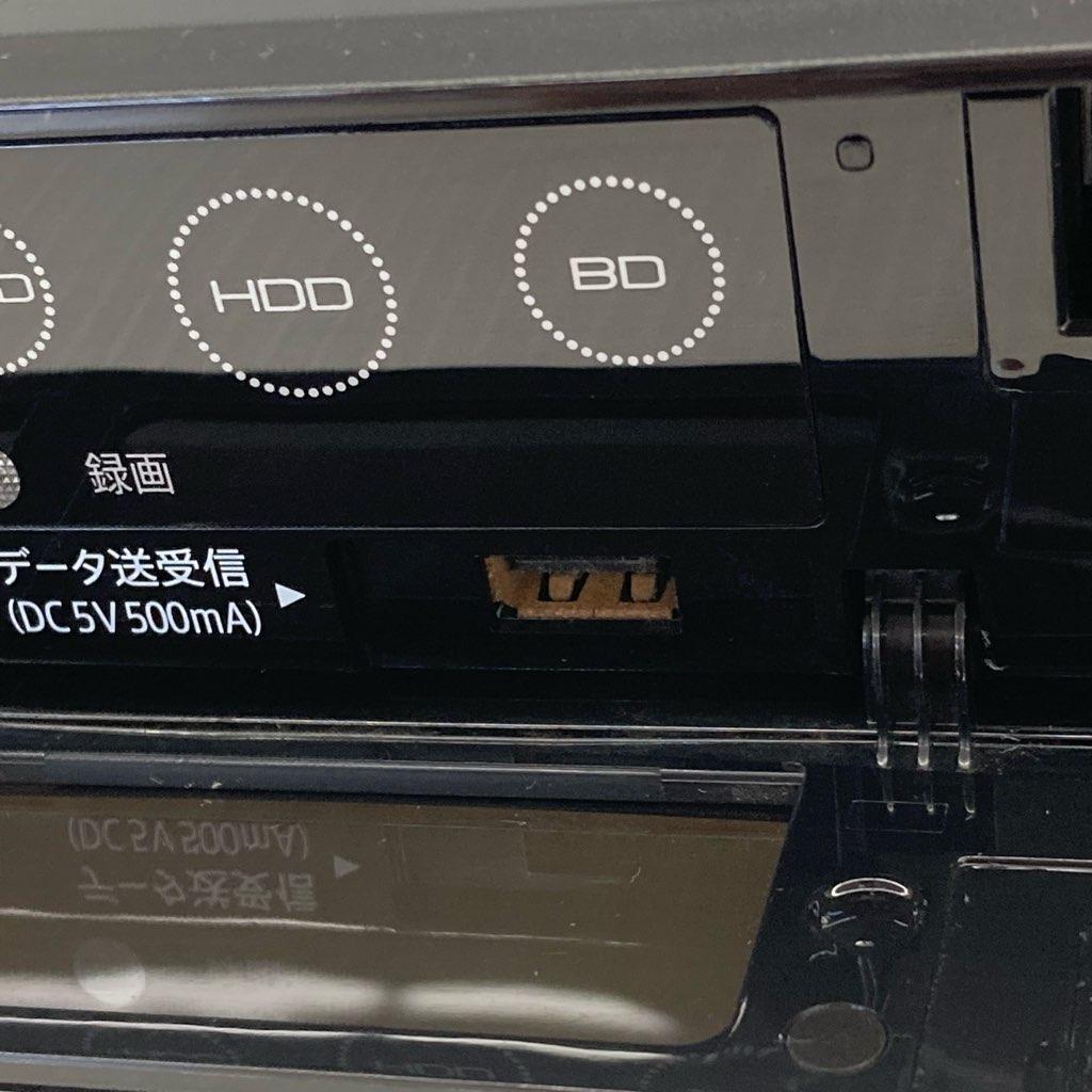 中古  シャープ ブルーレイディスクレコーダー BD-S580 2016年製 HDD500GB 6ヶ月保証付き
