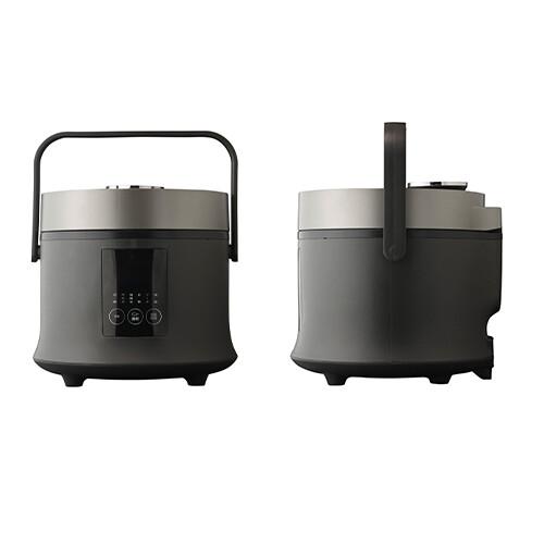 【サブスク専用】3合炊き炊飯器 ブラック RC-30BK