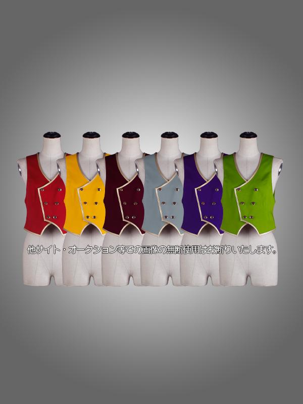 【送料無料】オリジナル金ライン制服セット 全6色選択式  男装・男性用【ブラック】《受注生産》[FAVORIC]