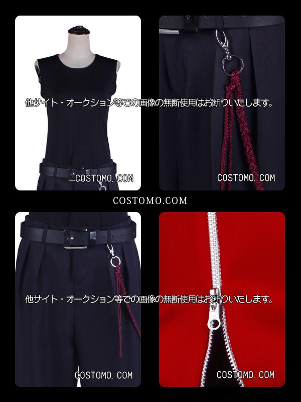 【国内即納/送料込み】黒×赤パーカー×バンダナ 一郎【学ラン】