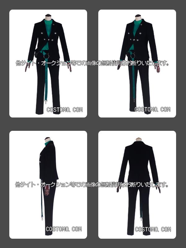 【送料無料】 ベロア素材使用セットアップ 衣装 独歩(2)