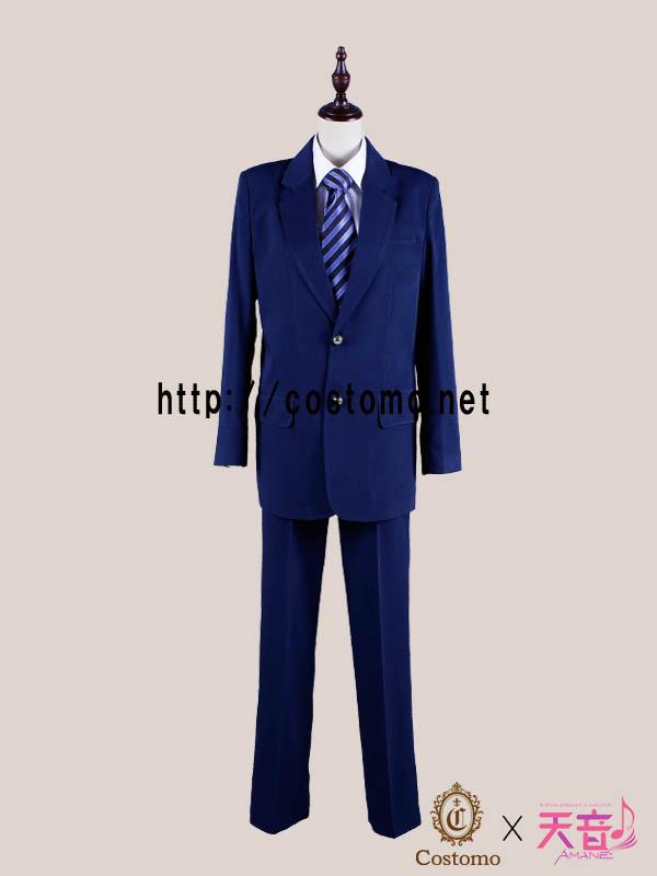 【送料無料】テニス向きコスプレ衣装 ダークネイビー(紺色)のブレザーセット 立海