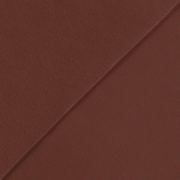 【送料無料】生地 ポリエステルツイル No.15 レッドブラウン【150cm幅】[FAVORIC]