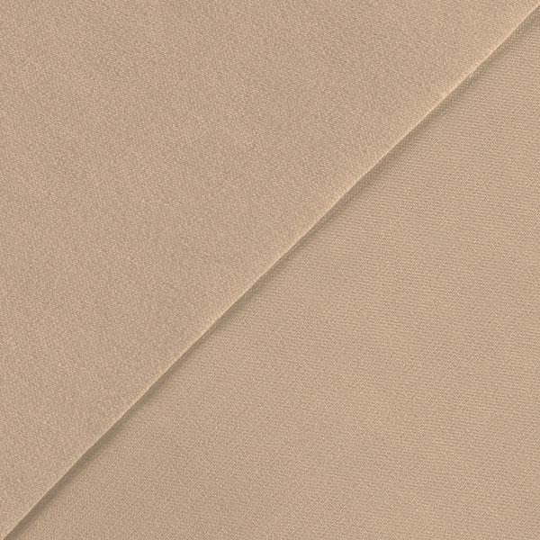 【送料無料】生地 ポリエステルツイル No.42 ミルキーベージュ【150cm幅】[FAVORIC]