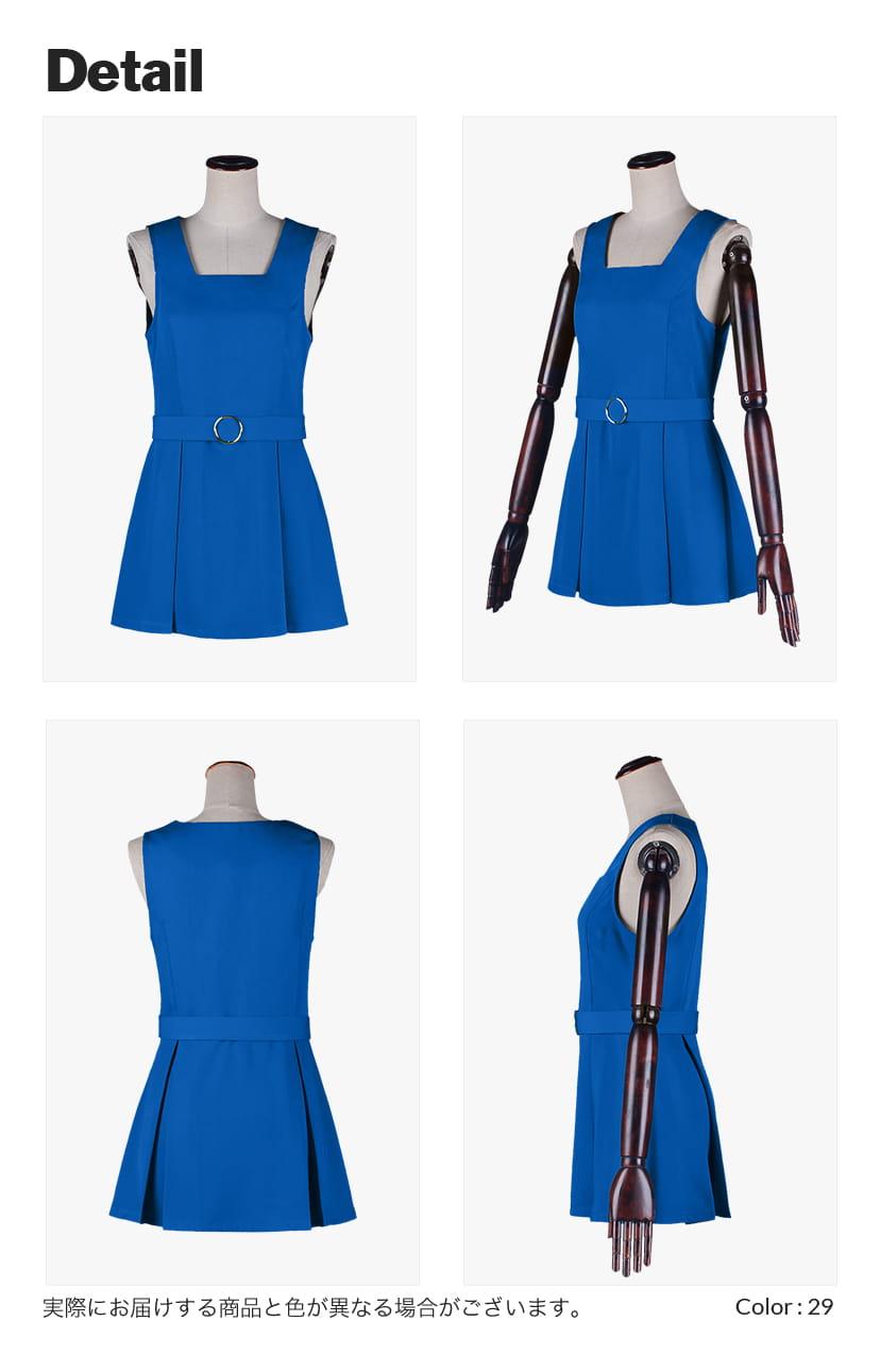 【送料無料】学生服ワンピースタイプ【カラー・選べるブルー系】《受注生産》[FAVORIC]