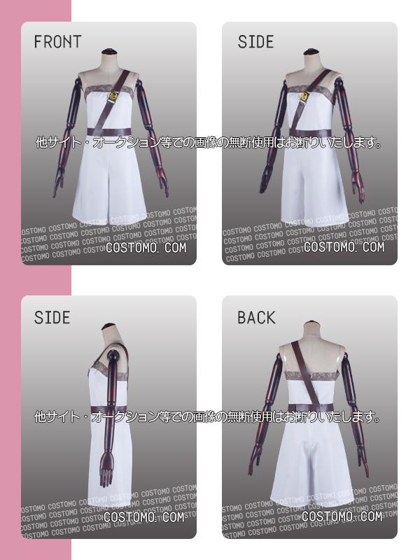 【送料無料】とうらぶ風 ピンク羽織×白衣装セット 北谷