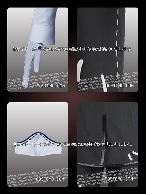 【送料無料】 グレー×白 衣装セット 納棺師