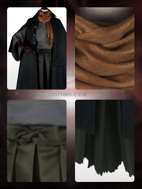 【送料無料】 インバネスコート 着物セット 以蔵