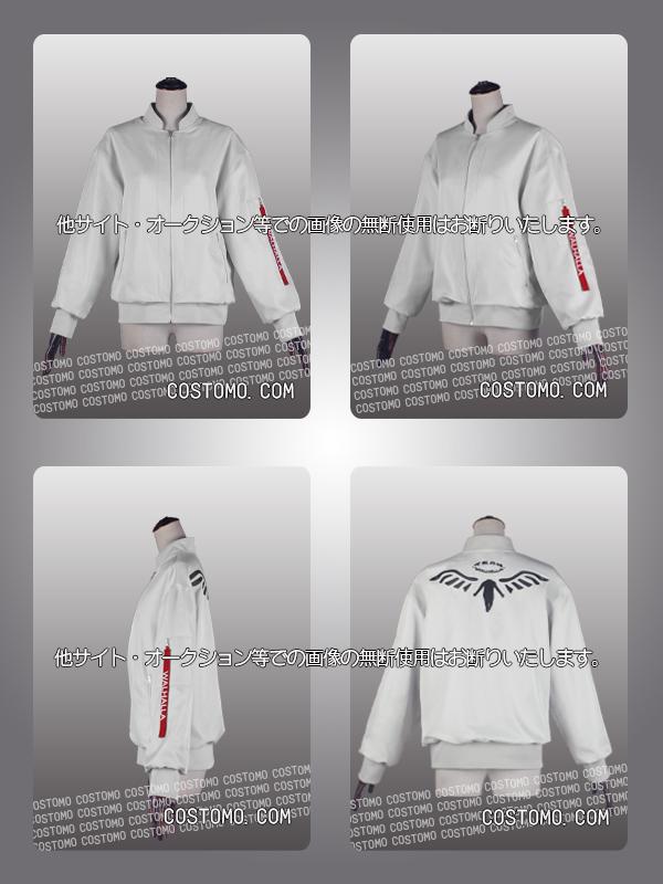 【送料無料】ホワイトグレー 刺繍ジャケット バルハラ