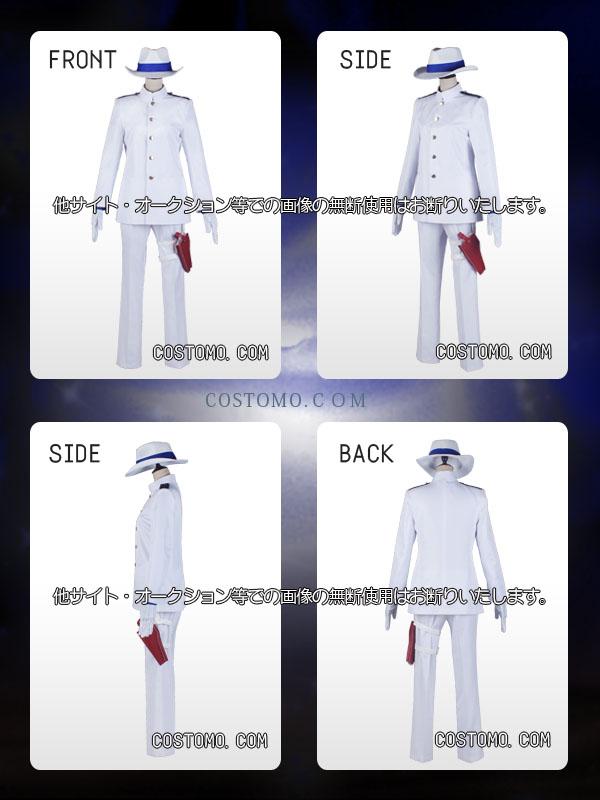 【送料無料】白×青シャツ 帽子セット 龍馬