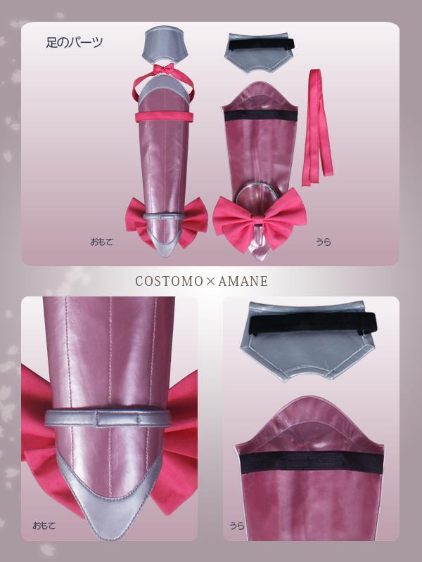 【SALE】【送料無料】 とうらぶ風 ピンク×紺色ワンピース 桜色の装備品セット 極ver 乱