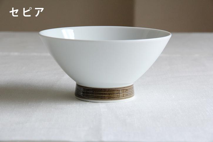 【一時製造中止】麻の糸 飯わん (白山陶器)