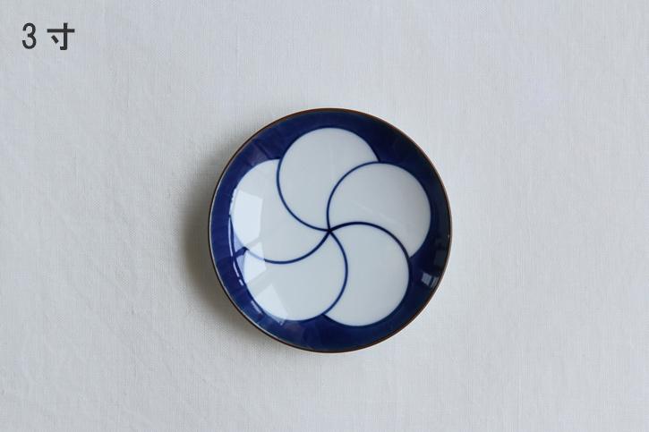 【一時製造中止】ねじり梅 和皿 (白山陶器)